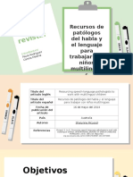Bilinguismo en niños estudio