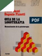 Guia de la Logoterapia.Bazzi y Fizzoti Adri