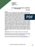 PLANIFICACIÓN DE UN TRABAJO DE CAMPO PARA LA ENSEÑANZA DE LA BIOLOGÍA