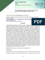 DRAMATIZACIÓN COMO MODELO DIDÁCTICO PARA FACILITAR EL  APRENDIZAJE DE LA MICROBIOLOGÍA INDUSTRIAL