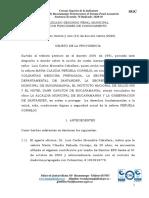 SENTENCIA DE TUTELA MARIA CLAUDIA PENŢUELA 31 MARZO SANITAS  Y OTROS CORONAVIRUS (1).pdf