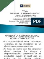 MANEJAR LA RESPONSABILIDAD MORAL CORPORATIVA Y LOS STAKEHOLDERS EXTERNOS