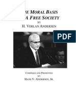 The Moral Basis of a Free Society H. Verlan Anderson