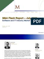 Corum Group MA Flash Report 7-2-2009