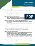 FAQ - Driver Licensing