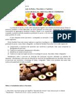 Introdução a Industrialização de Balas, Chocolates e Confeitos