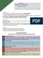 Descripción de la Evidencia de Aprendizaje - U3 - DH