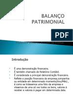 3- Balanço Patrimonial