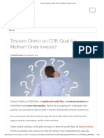 Tesouro Direto ou CDB_ Qual é o Melhor_ Onde Investir_.pdf