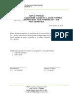actas de COPASST Compostela