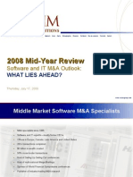 2008 Software/IT M&A Review