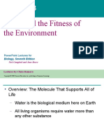 3. water and the fitness of environment