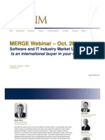 October M&A Flash Report