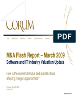 How is the Current Stimulus and Market Chaos Affecting Merger Opportunities? - March Software/IT M&A Flash Report