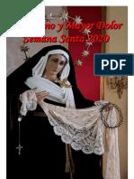 Boletín de Cuaresma 2020. Venerable Hermandad del Santísimo Cristo del Abandono y Nuestra Señora del Mayor Dolor.