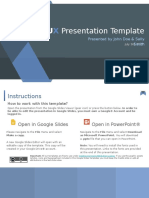 FGST0015 - UX Theme Presentation Template