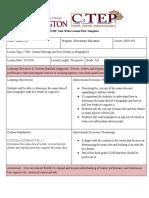 central message lesson plan - google docs