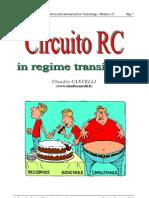 Circuito RC in regime transitorio