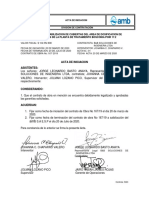 ACTA DE INICIO CO 167