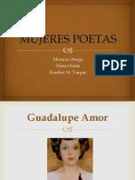 Mujeres Poetas México
