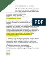 FILOSOFIA - SIMULACROS 1 Y 2 - ACEM