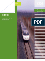 Railroad Industry - Smart Railroad Opportunities