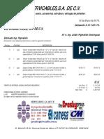 ESI CONSULTORES Cotización # 01-100119..xls