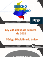 1. Memorias DERECHO DISCIPLINARIO LEY 734 DE 2002