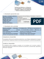 Guía de Actividades y Rubrica de Evaluacion - Tarea 1 - Informe Sistemas Productivos.