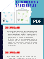 GASES IDEALES Y GASES REALES