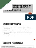 Suspensionterapia y Poleoterapia