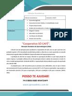 PR Portifólio Economia 5 e 6 Semestre Cooperativa Só Café