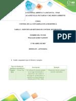 Compilación Tarea 3 Control de la contaminación atmosférica