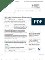 El proyecto Di.me integra los datos personales · ELPAÍS