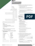 Achievers B1 Vocabulary Worksheet Consolidation Unit 3