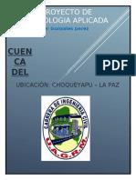 INFORME DEL PROYECTO FINAL DE HIDROLOGIA APLICADA