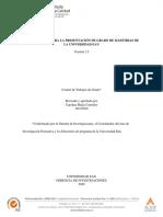 1. LINEAMIENTOS PARA LA PRESENTACIÓN DE TRABAJOS DE GRADO MAESTRIAS_v2.5