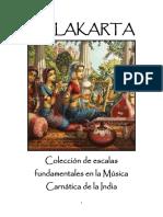 Melakarta - Escalas Musicales Carnaticas Indias