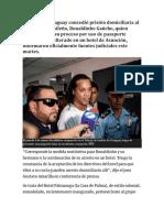 Un juez de Paraguay concedió prisión domiciliaria al exjugador brasileño