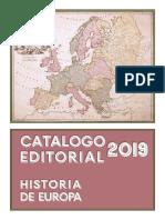 Catalogo Editorial 2019