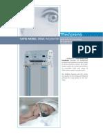 (GI-MD03) Mediprema - Satis 3555 Infant Incubator
