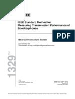 IEEE Std 1329-2010  IEEE Standard Method for Measuring Transmission Performance of Speakerphones-.pdf