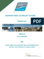 LGPRO2014.2015 RAPPORT FINAL DU PROJET TUTEURE groupe n°2
