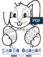 Easter Advert for Kids 30x6