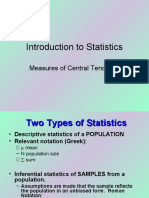 Introduction to Statistics53004300.ppt
