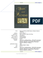 Alchemy - Yeats and Alchemy William Gorski