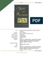 Alchemy - Yeats and Alchemy William Gorski
