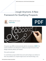 BANT Isn't Enough Anymore_ a New Framework for Qualifying Prospects