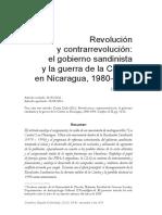 NICARAGUA CONTRAS