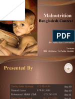Malnutrition - Bangladesh Context